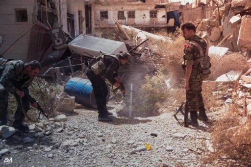 Сводка по Сирии.  Две группы террористов ликвидированы на юге Хомса