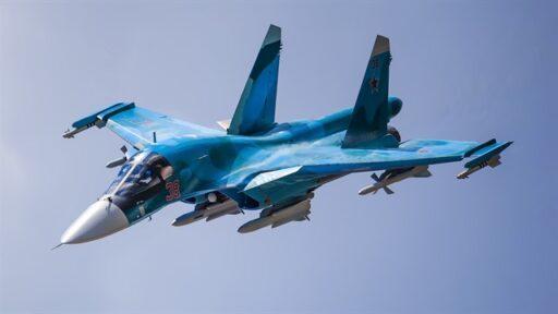 Истребитель-бомбардировщик Су-34 назван лучшим в мире ударным самолетом