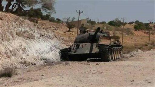Танки Т-54 и Т-55-пенсионеры на войне