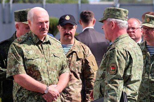 Лукашенко заявил, что информацию о российских «боевиках» получил от Киева