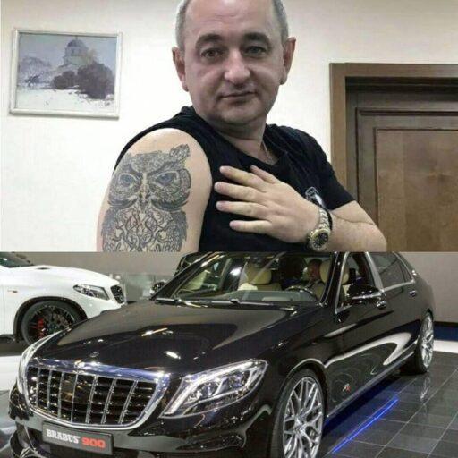 Воюем дальше.Военный прокурор Украины Матиос приобрёл Мерседес за миллион долларов
