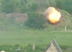 Видео применения ВСУ ПТРК по территории ДНР