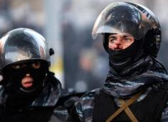 Обмененные сотрудники спецподразделения «Беркут»