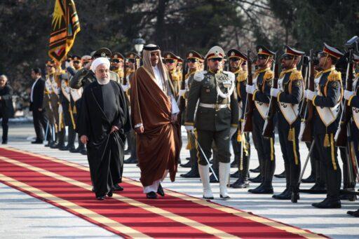 Эмир Катара в Тегеране