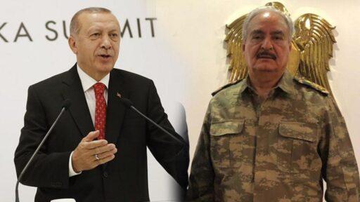 Эрдоган пообещал преподать урок Хафтару