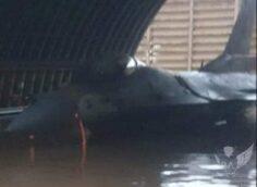 Израильские истребители оказались в воде