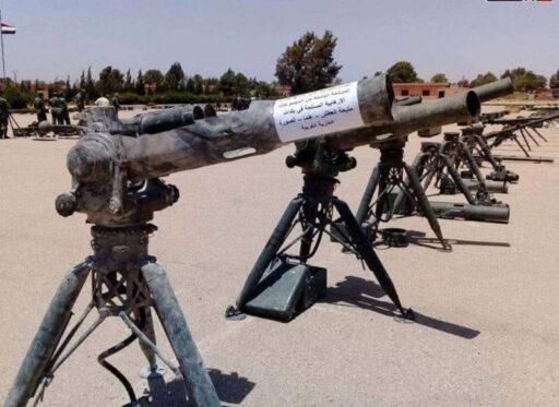 Сирийская армия захватила у боевиков ПТРК TOW