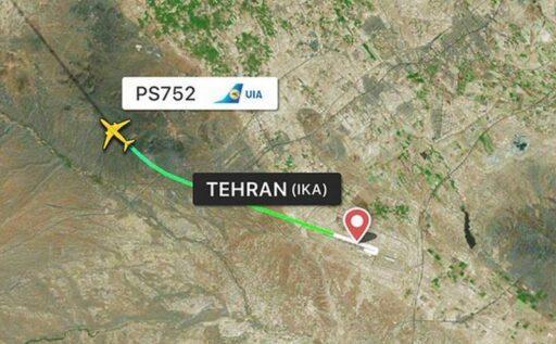 В столице Ирана рухнул украинский пассажирский лайнер