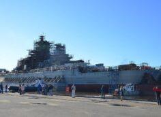 На атомном крейсере «Адмирал Нахимов» начат монтаж вооружения