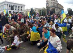 Провал коленопреклоненной Украины
