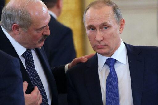 Путин обсудил с Лукашенко задержание россиян в Белоруссии