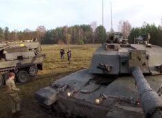 Британия может полностью отказаться от танков