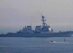 Балтийский флот взял на сопровождение американский эсминец УРО Ross (DDG-71)