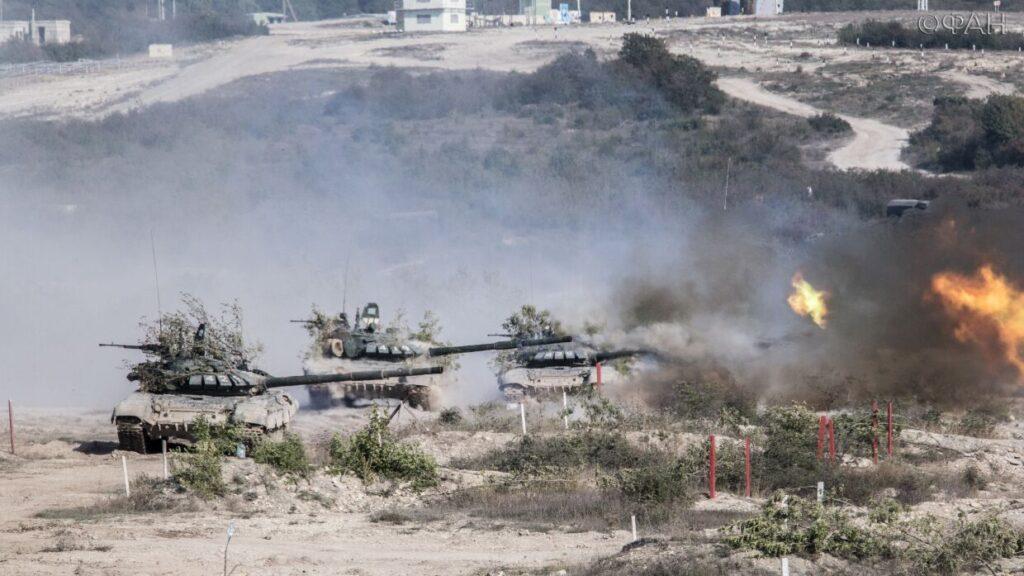 Бойцы ВДВ отработали защиту Юго-Запада РФ от морского десанта