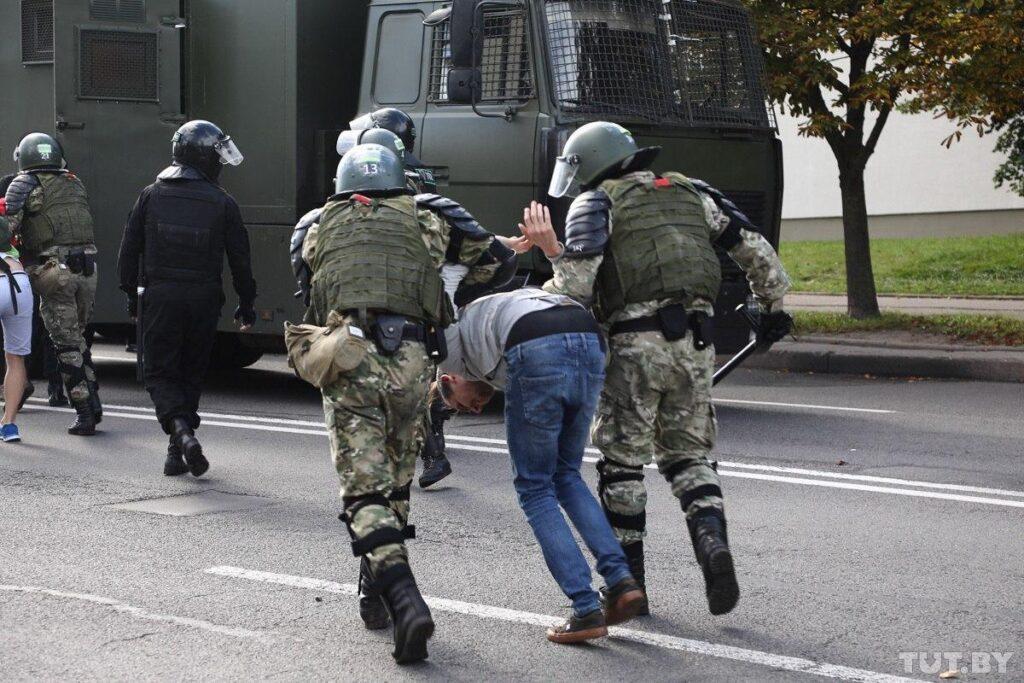 В Минске задержаны трое мужчин, которые готовились к нападению на правоохранителей