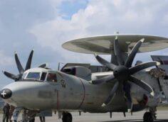 В США упал и сгорел самолёт ДРЛО E-2C Hawkeye