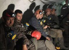 Около 400 шахтеров украинского Кривого Рога объявили забастовку и находятся под землей