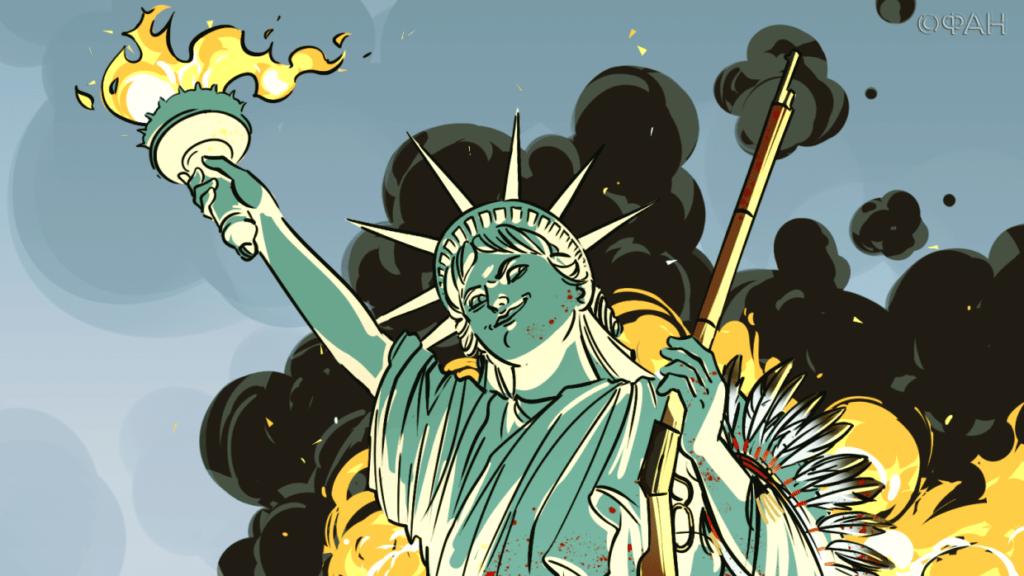 Гражданская война в США приведет к власти военных под началом экс-главы ЦРУ