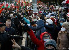 Белорусская оппозиция раздражена подготовкой массового митинга в поддержку Лукашенко