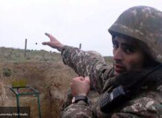 Отступающие азербайджанские военные пытаются сбежать в Иран