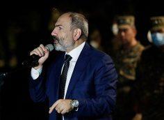Пашинян призвал армянский народ взять в руки оружие